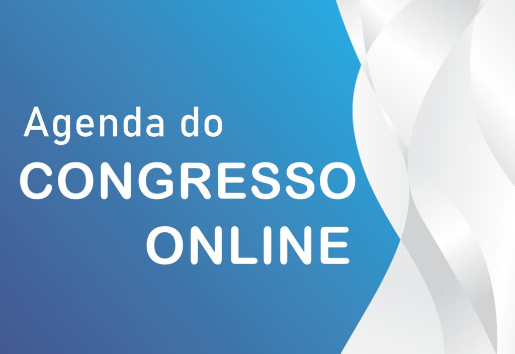 Agenda do congresso disponível